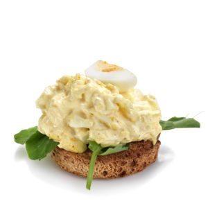 Smørrebrød med æggesalat